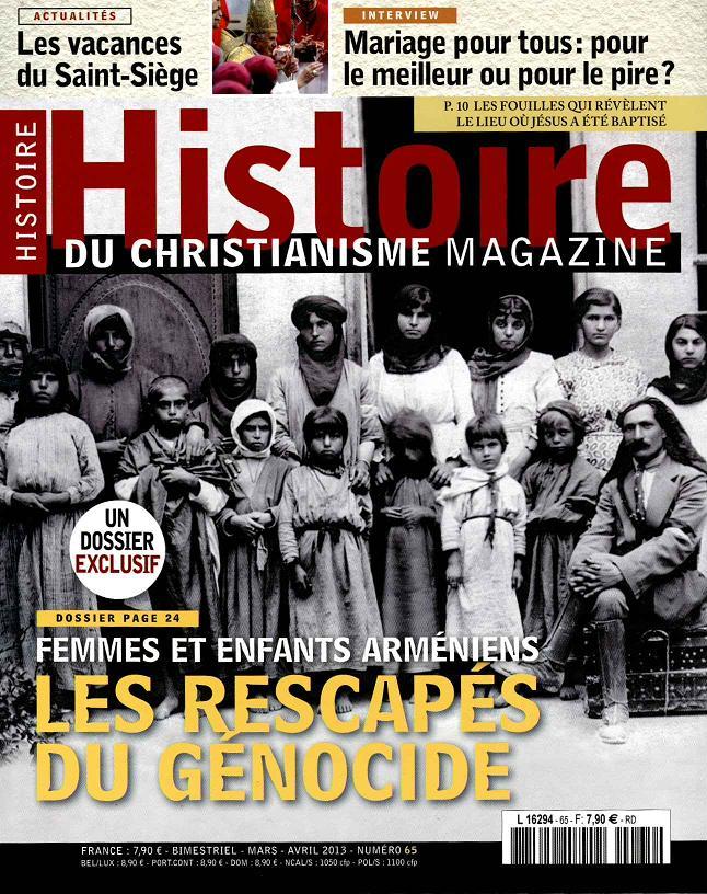 HISTOIRE DU CHRISTIANISME MAGAZINE