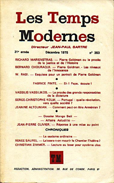acam livres arm 233 niens revue les temps modernes